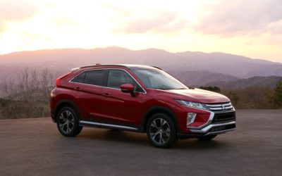 """2019 MITSUBISHI ECLIPSE CROSS EARNS """"TOP SAFETY PICK"""" RATING FROM INSURANCE INSTITUTE FOR HIGHWAY SAFETY"""
