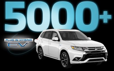 OUTLANDER PHEV SETS CANADIAN RECORD WITH 5,000+ SOLD