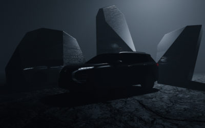 MITSUBISHI MOTORS Provides First Tease of All-new OUTLANDER – Global Reveal of Vehicle to Follow in February 2021
