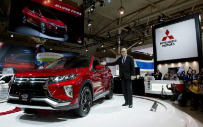 ALL-NEW MITSUBISHI ECLIPSE CROSS AT CANADIAN INTERNATIONAL AUTO SHOW